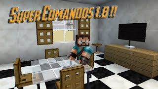 Minecraft 1.8: Super comandos! / Sillas, ciudades, armas..etc/ SIN MODS!