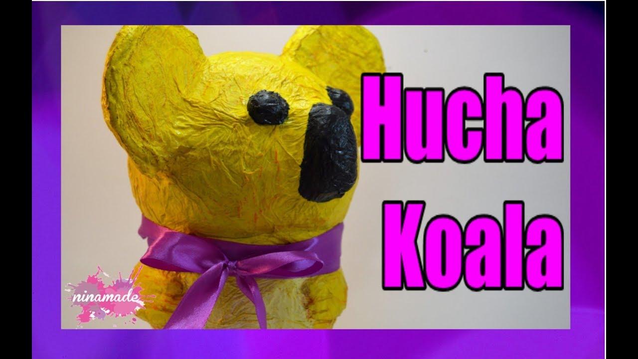 Diy como hacer una hucha koala how to make a koala - Como hacer una hucha ...