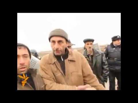 Arxiv 2010 - Saatlıda Polislə vətəndaşlar arasında gərgin anlar