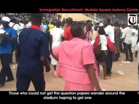 Immigration recruitment  Kaduna experience