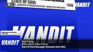 Andrea Mazza & Max Denoise - State Of Soul (Giuseppe Ottaviani Intro Mix)