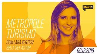Metrópole Turismo - Viviane Pessoa e Valmir Júnior - 09/12/2019 thumbnail