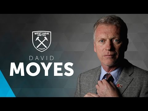 DAVID MOYES APPOINTED NEW MANAGER OF WEST HAM UNITED