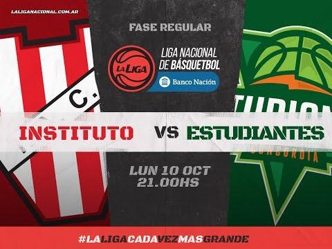 Liga Nacional de Básquet:  Instituto vs. Estudiantes | #LaLigaEnTyC