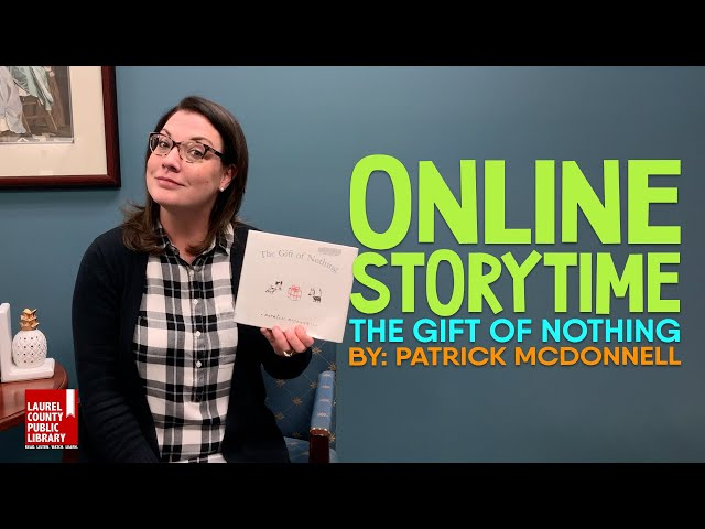 Online Storytime: The Gift of Nothing by Patrick McDonnell