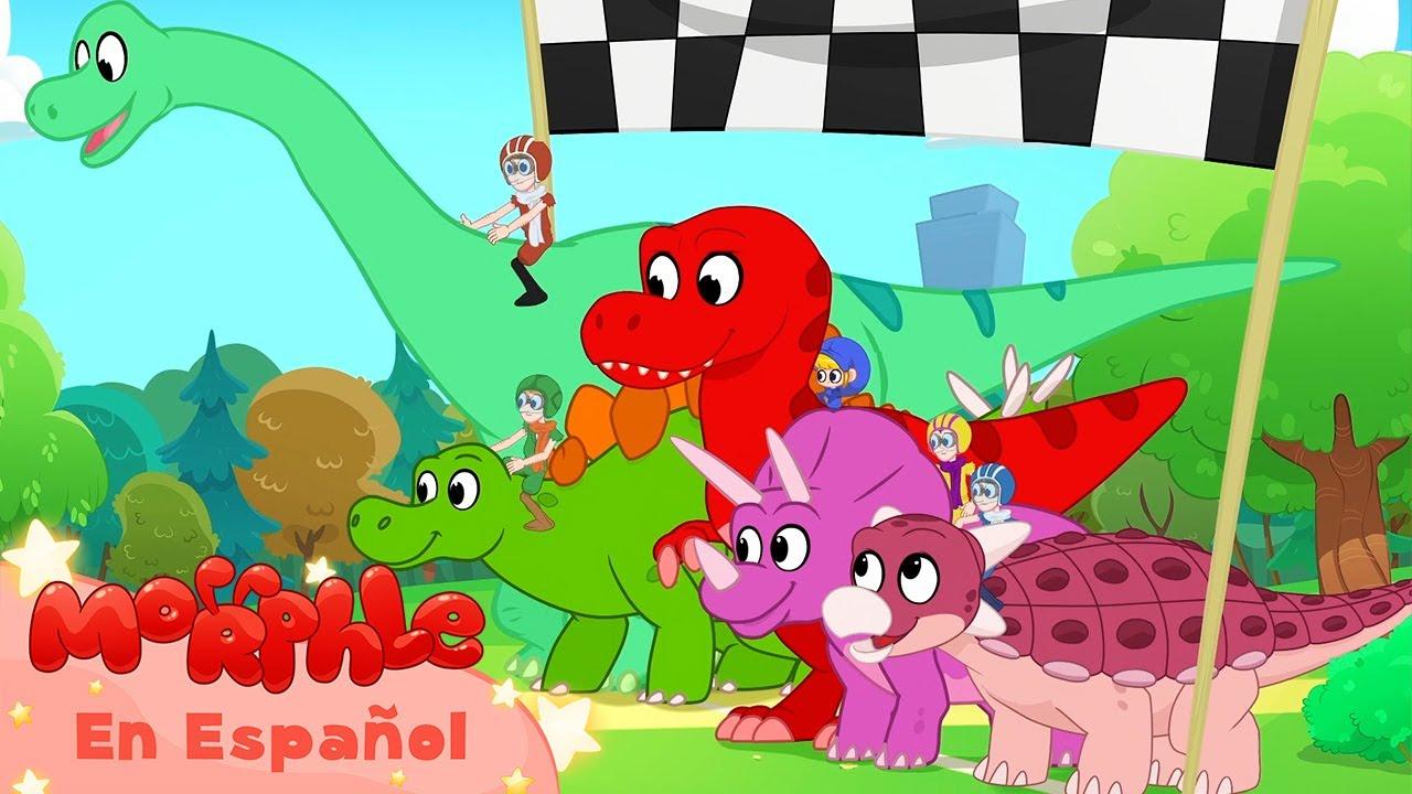 La Carrera De Dinosaurios Mila Y Morphle Caricaturas Para Ninos Morphle En Espanol Youtube De esta serie tengo 1 dvd. la carrera de dinosaurios mila y morphle caricaturas para ninos morphle en espanol
