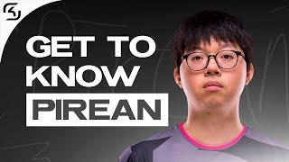 Get to know Junsik 'Pirean' Choi: Midlaner. | SK LEC
