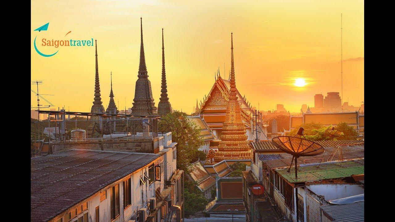 Thái Lan Xứ sở chùa vàng – Điểm đến chưa bao giờ hết hot