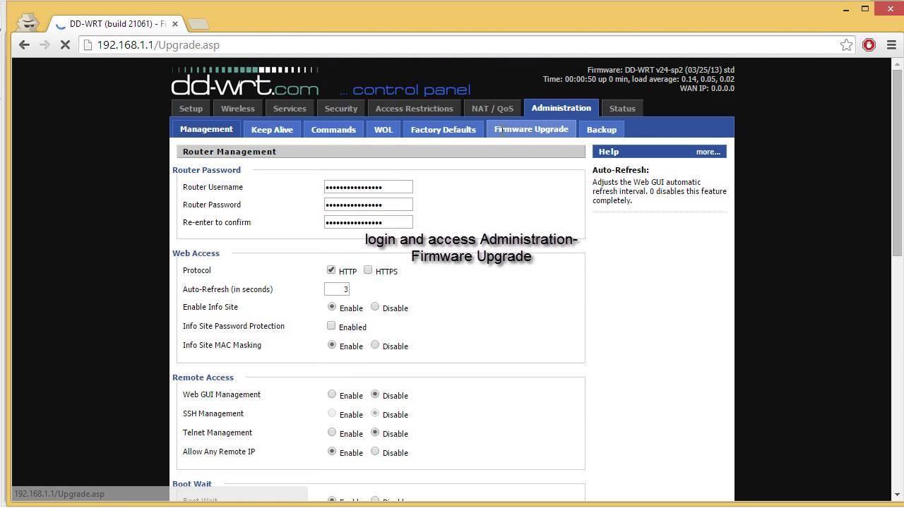 DD-WRT Revert to factory firmware TP-Link