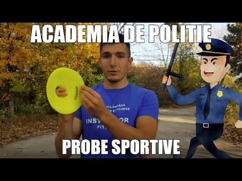 Antrenament Academia de Politie 2018 | Probe sportive
