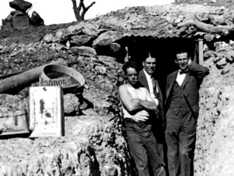 Coober Pedy in 1929 (where people lived underground)