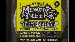 "MEMPHIS BLEEK - ""LIKE THAT""  (INSTRUMENTAL)"
