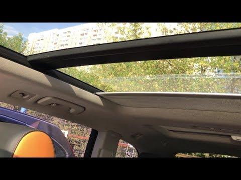 как закрыть шторку панорамной крыши на bmw x3