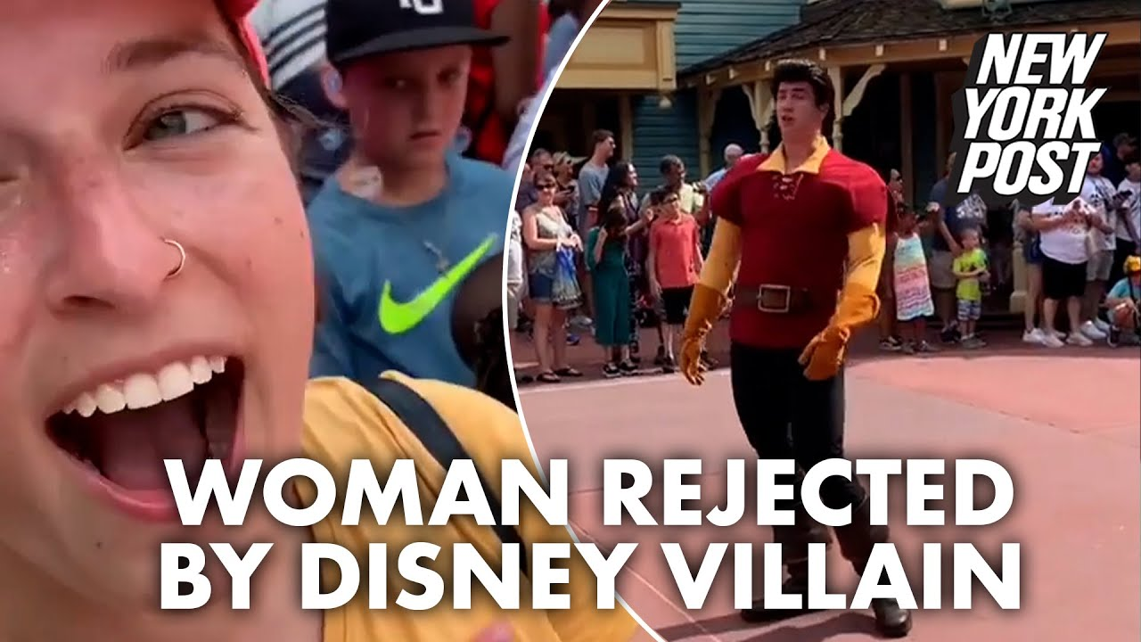 Mortified woman gets rejected by Disney villain after asking him out   New York Post