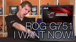 ASUS ROG G751JY Gaming Notebook Overview