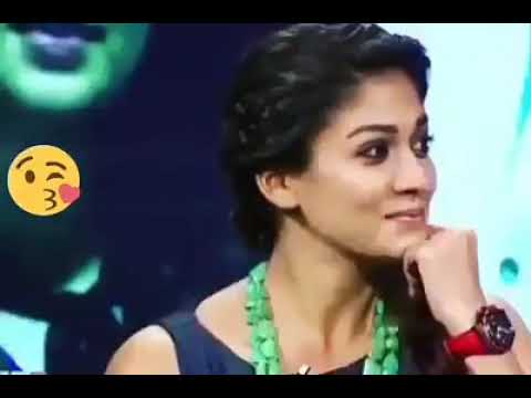 NAYANTHARA CUTE REACTION in Interview