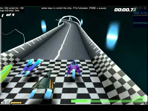 Jet Velocity 3D, flash game