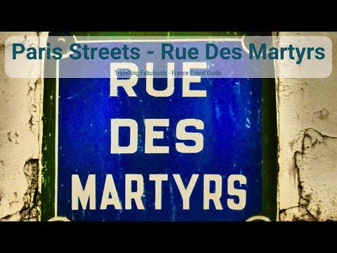 Rue Des Martyrs, Paris Things To Do, Paris Streets Series
