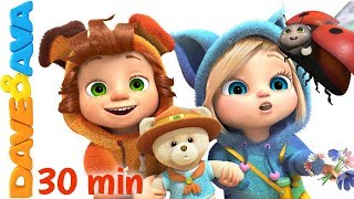 Download ⛺ The Bear Went Over the Mountain | Nursery Rhymes Collection from Dave and Ava ⛺ Mp3 and Videos