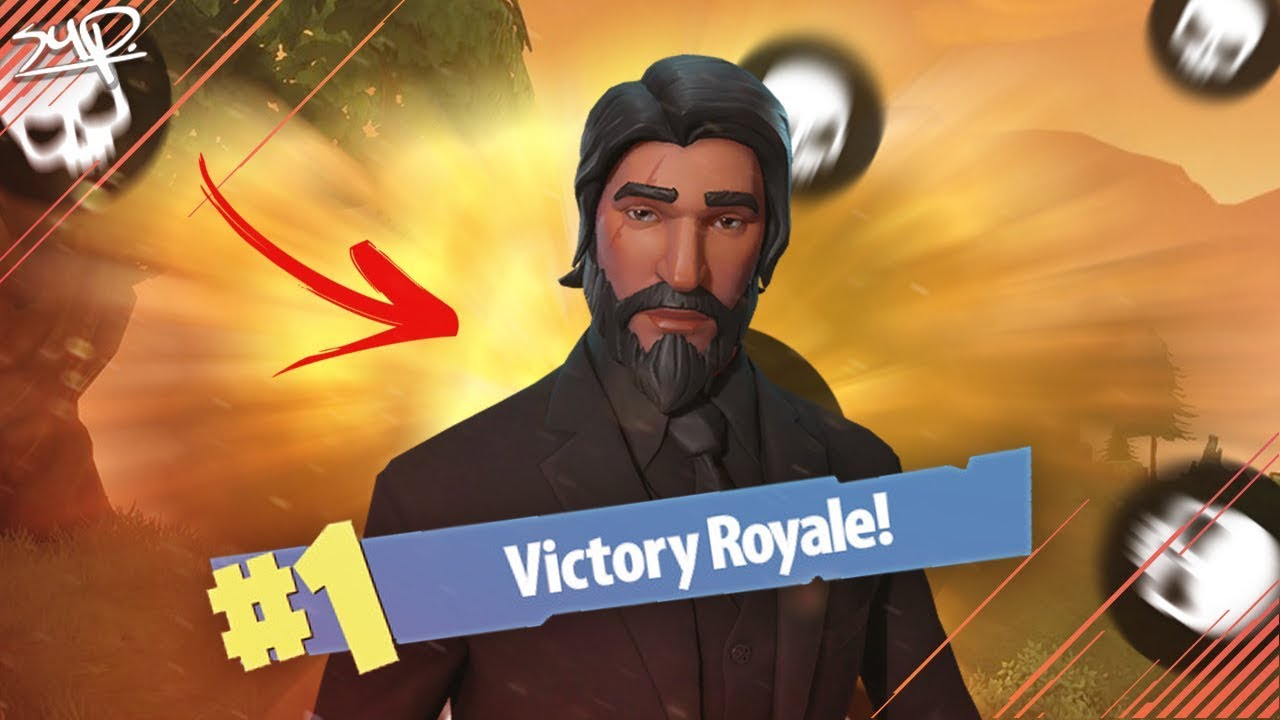 TIER 100 GAME WINNEN!?! JOHN WICK SKIN! || Fortnite ...