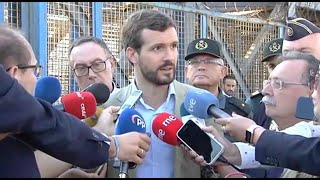 """Casado: """"España no va bien"""""""