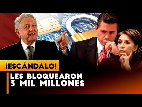 AMLO BL0.QUEA 3 MIL MILLONES A PEÑA DEL R0.B0 DE OSORIO CHONG Y ROSARIO ROBLES TIENES QUE VER ESTO!!