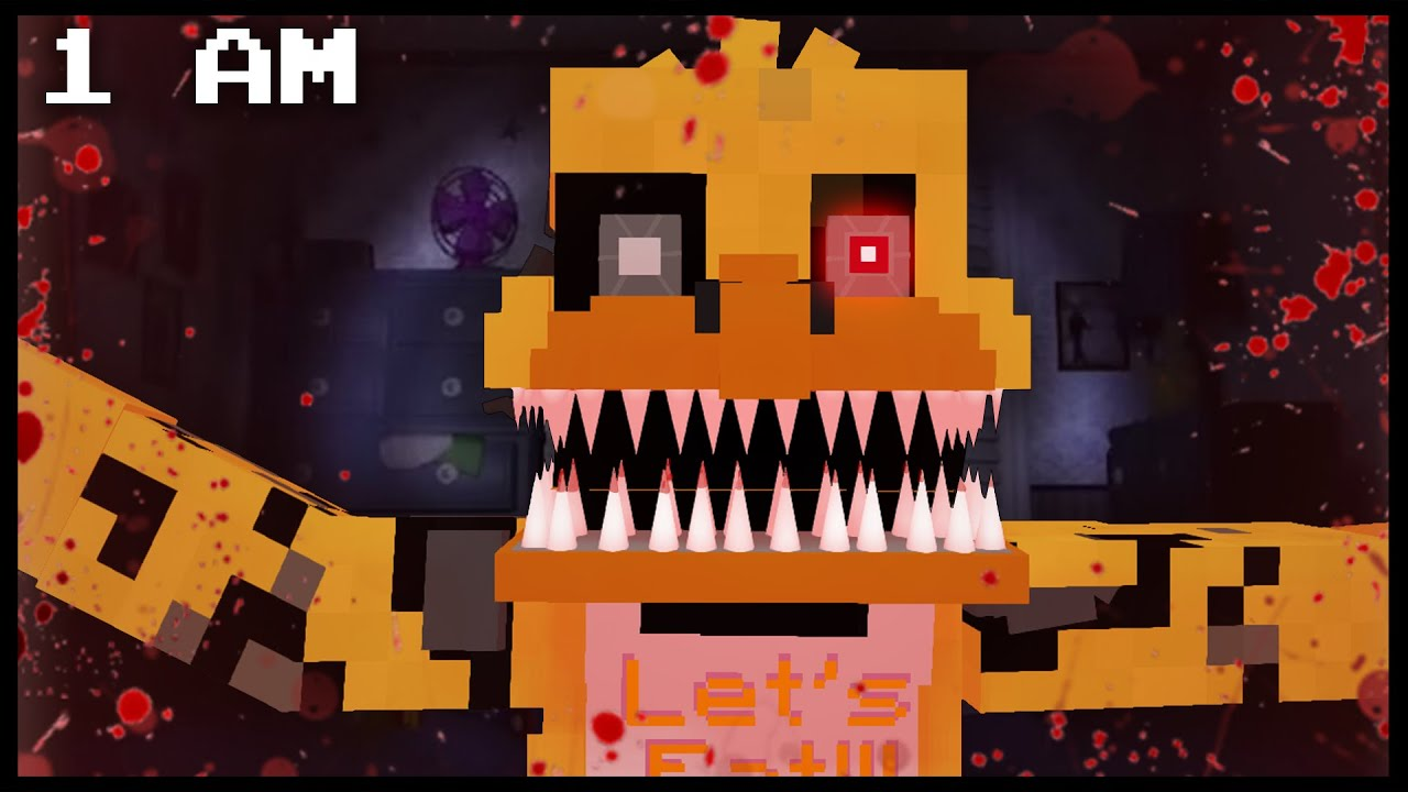 Five Nights At Freddy S 4 Nightmare Chica 1 Am