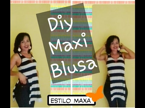 Diy: Maxi Blusa