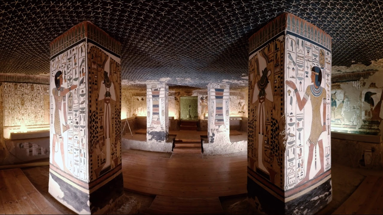 View the pyramids of Ancient Egypt in this 360 degree VR