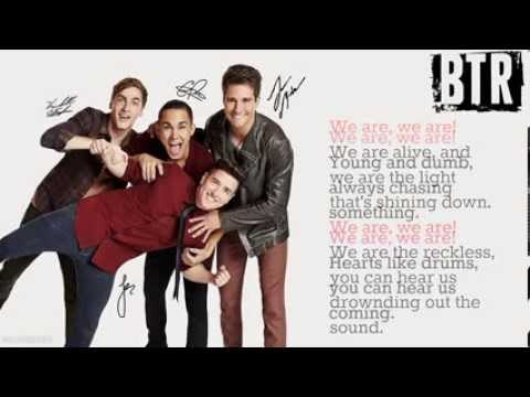 Big Time Rush-We Are [Lyrics]