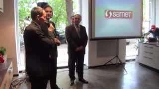 Открытие шоу-рума Samet в Москве(12 мая 2014 года состоялось торжественное открытие первого шоу-рума компании Samet в Москве, на Бережковской..., 2014-07-07T03:00:01.000Z)