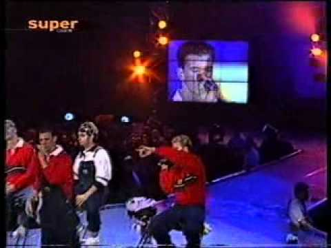 N sync - I drive myself crazy, You drive me crazy (Popcorn live '98)