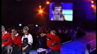 N sync - I drive myself crazy, You drive me crazy (Popcorn live