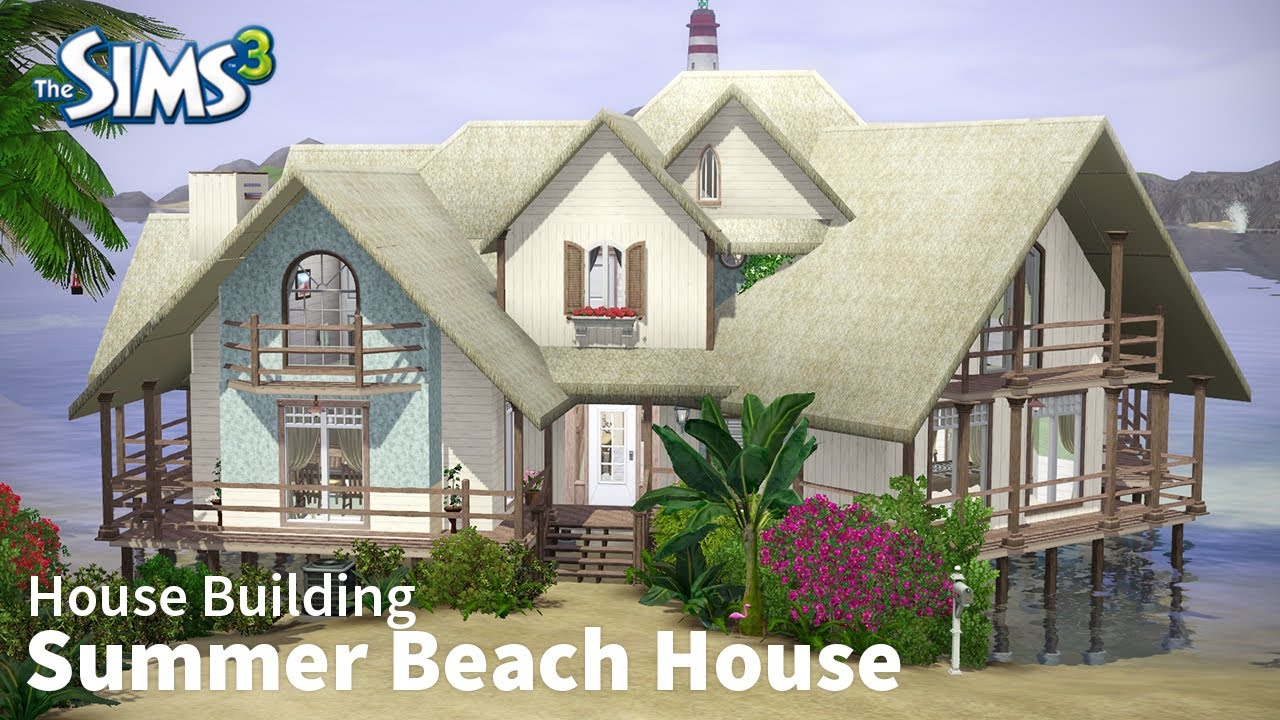 Sims 3 beach house images galleries for Beach house 3 free download