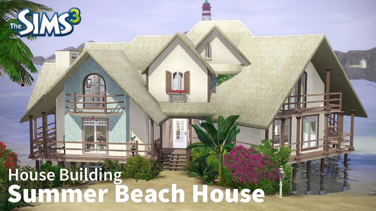 Summer Beach House The Sims 3 Building