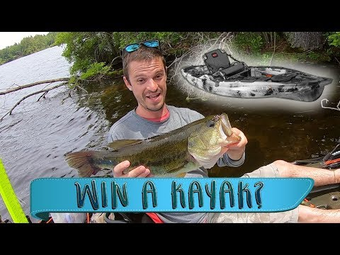 Pawtuckaway Lake, New Hampshire - Kayak Bass Fishing Tournament - Win A Kayak?