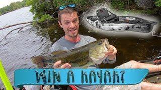 Kayak Bass Fishing Tournament - Pawtuckaway Lake, New Hampshire - Win A Kayak?