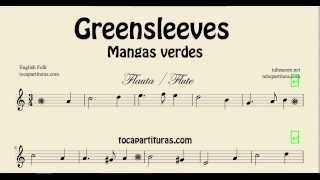Greensleeves Sheet Music for Flute What Child is this Mangas Verdes