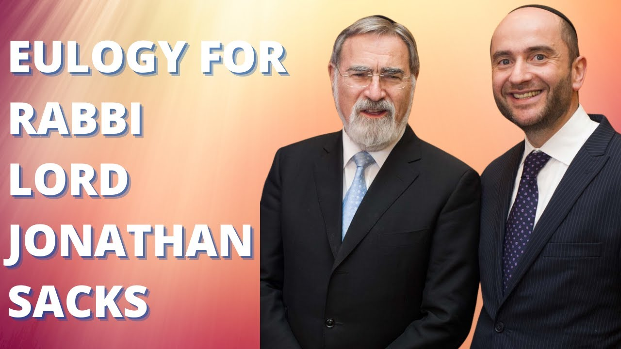 "Rabbi Jonathan Sacks z""l - A Soul Doctor in our Time"