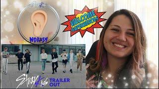"Stray Kids ""NOEASY"" Thunderous Trailer 👂  REACTION"