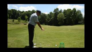 Bradley Hughes Golf- Hitting From The Inside Drill Part 1