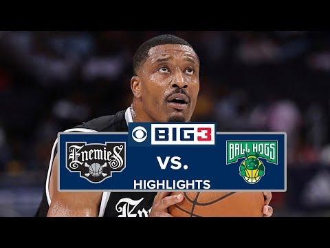season-3-week-2-|-highlights-|-ball-hogs-vs.-enemies-[gilbert-arenas-big3-debut]