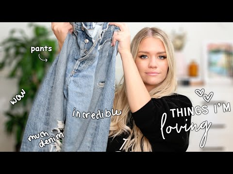THINGS I'VE BEEN LOVING - CLOTHES, PERFUME, SOAP LOL | Samantha Ravndahl thumbnail
