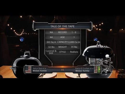 World Mixed BBQ Arts | Weber Kettle vs Carson Rodizio Challenge