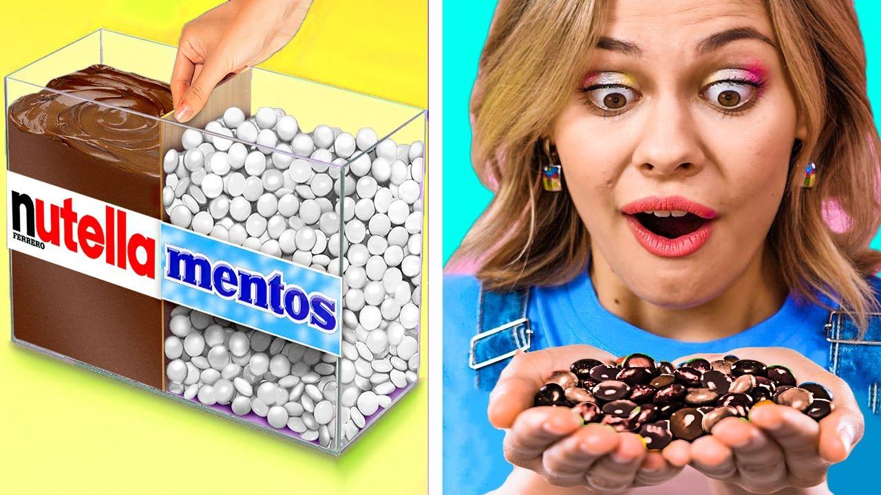 ¡BROMAS DE COMIDA DE CHOCOLATE PARA HACERLES A TUS AMIGOS! || Trucos de comida por 123 GO Like!