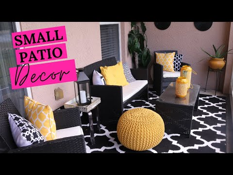 My Budget Friendly Patio Makeover | small patio decorating ideas on a budget | cheap patio makeover