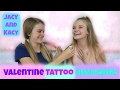 Valentine Tattoo Challenge ~ Jacy and Kacy