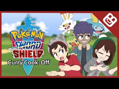 Pokémon Sword And Shield Animation - Curry Cook-Off