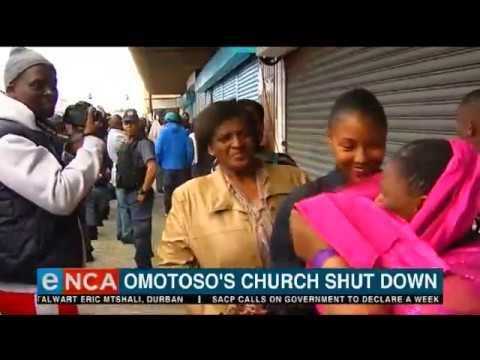 Omotoso's church shut down in PE