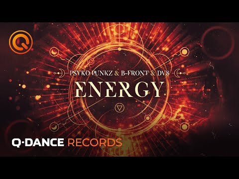 Смотреть клип Psyko Punkz & B-Front & Dv8 - Energy
